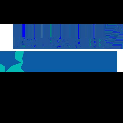 IQ logo and Poliscribe logo