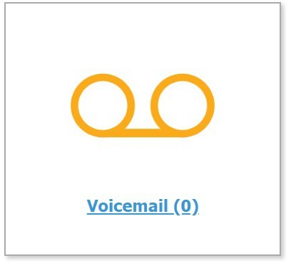 Voicemail Homepage tile in IQ